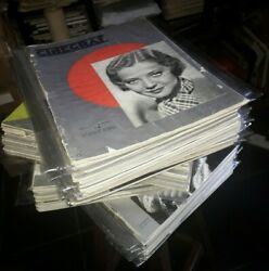 Cinegraf De Luxe Hollywoodand039s Magazine Complete Collection 68 Issues 1932-1937