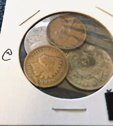 Rare 1890 Liberty Nickel And 3 Other Old Us Coins Awesome Coin Collecting Start