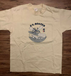 Wwii Vet Owned Vtg Pt Boat Reunion Shirt - Menandrsquos Large Navy Usn Military