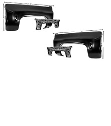 Chevy,chevrolet Pickup Truck Front Fender Set Left And Right 1973-1980
