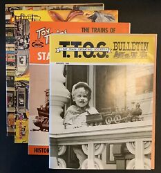 4 Toy Train Catalogs/booklets 1964 To 1996