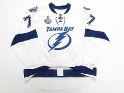 Hedman Tampa Bay Lightning 2015 Stanley Cup Team Issued Reebok Edge 2.0 Jersey