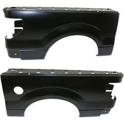 Pair Fenders Set Of 2 Rear Left-and-right For F150 Truck Fo1757137 Fo1756137
