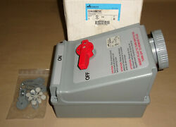 Crouse Hinds Ch430mi7w Mechanical Interlock Receptacle 30a 3w4p Cooper New