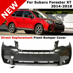 For 14-18 Subaru Forester Xt | 2.0 Turbo Direct Replacement Front Bumper Cover