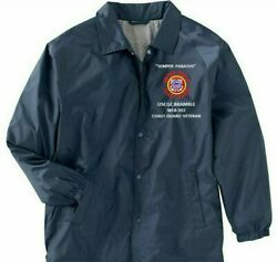 Uscgc Bramble Wlb-392 Semper Paratus Coaches Embroidered Lightweight Jacket