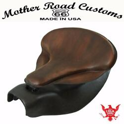 2014-2021 Indian Chief Custom Brown Distres Leather Spring Seat Mounting Kit Bs