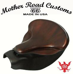 2014-2021 Indian Chief Spring Soft Brown Leather Seat Mounting Conversion Kit Bs