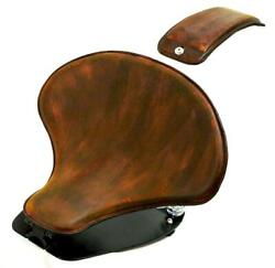 2015-21 Indian Scout And Bobber Spring Tractor Seat 201brn Leather Mounting Kit Cs