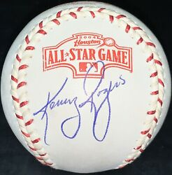 Kenny Rogers Autographed Signed 2004 All Star Game Baseball Rangers Jsa