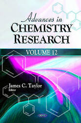 Advances In Chemistry Research Volume 12 By Nova Science Publishers Inc...
