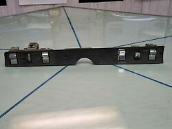 1968-1969 Plymouth And Dodge Convertible Lower Dash Switch Panel Complete Rare