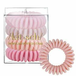 4 Pack Hair Coils - Ballet. Authentic Kitsch
