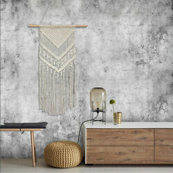 Macrame Woven Tapestry Art Wall Hanging Apartment Gift Bohemian Home Vintage
