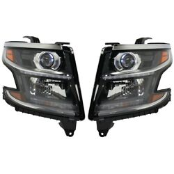 Gm2503406, Gm2502406 Hid Headlight Lamp Left-and-right For Chevy Hid/xenon Tahoe