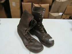 WWII Korea Jump Combat Boots Originals Russet Leather named (9 12 R)