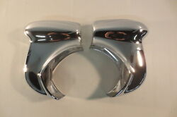 1948 1949 Cadillac Front Bumper Guards Accessory Re-chromed Trim Molding Pair