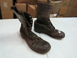 WWII Korea Jump Combat Boots Originals Russet Leather named (8R) #1