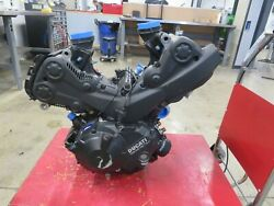 Eb789 2017 17 Ducati Supersport 939 Motor Engine Assembly 8761 Km / 5443 Miles