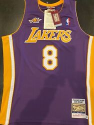 100 Authentic Kobe Bryant 2000 Lakers All Star Nba Jersey Size 44l Mens