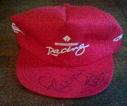 Nascar Winston Cup Series International Racing Hat Signed By Richard Petty