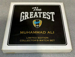 Muhammad Ali Watch By Fossil / Limited Edition / Autograph  New In Box