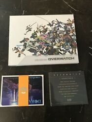 Overwatch Collectors Art Book, Postcards, And Soundtrack