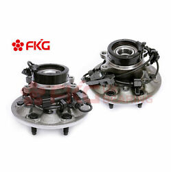 2 Front Wheel Bearing Hub Assembly For 2004-2008 Chevy Colorado Gmc Canyon 4x4