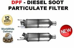 For Mitsubishi Outlander 4wd 2007-2012 Dpf Diesel Soot Particulate Filter