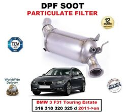 Dpf Diesel Soot Particulate Filter For Bmw 3 F31 316 318 320 325 D 2011- Estate