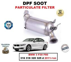 Dpf Diesel Soot Particulate Filter For Bmw 3 F30 F80 316 318 320 325 D 2011-on