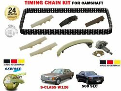 For Mercedes S Class 500 Se Sel Sec W126 C126 1979-1991 New Timing Cam Chain Kit