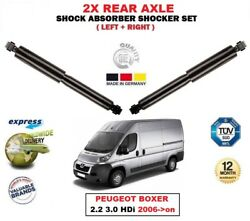 For Peugeot Boxer 2.2 3.0 Hdi 2006- Rear Left Right Shock Absorbers Lmax=476mm
