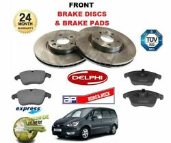 For Ford Galaxy 2.0i 2.0td 2006-2010 Front Brake Discs Set And Disc Pads Kit