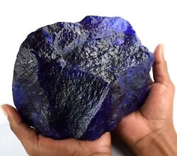 African Blue Sapphire Natural Big Size Gemstone Rough 10155 Ct Certified X1117