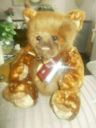 Charlie Bear Waffle Stunning Colour Different Types Of Plush To This Bear Tags