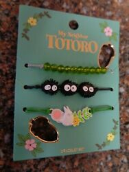 My Neighbor Totoro Set of 3 Bracelets Brand New Official Studio Ghibli NEW $16.49