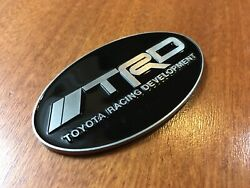 Oval Trd Emblem Badge Stickers For Snorkel 4runner Tacoma Suv Toyota 70mm X 40mm