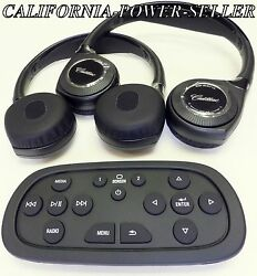 2015-2016 Cadillac Escalade Ceiling Dvd Player Wireless 2 Headphones W/ Remote