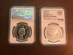 2019 Silver Athenian Owl Gem Un-circulated Early Release Ngc