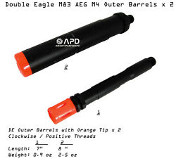 Double Eagle M83 M84 Airsoft Outer Barrel w Extended Barrel Airsoft AEG Part $12.00