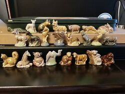 Wade Red Rose Tea Complete Set 23 Canadian Animals Series 4 Figurine Lot Canada