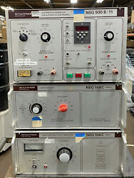 Schaffner Nsg Interference Test System With Nsg 500 B, Nsg 506c Part 1 And Part Ii