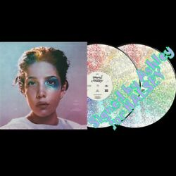 Halsey Manic 12 Autograph Signed 2 Color Vinyl Variants Glitter And Pink In Stock