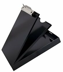 Portable Storage Clipboard With Dual Tray Storage Black Bestseller