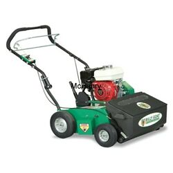 Billy Goat Auto Drop Push Overseeder 26and039 With Honda Engine Os552-h