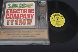 Songs From Electric Company Tv Show - Disneyland Records - Ster 1350 - 1973