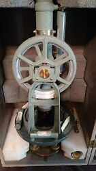 Vintage 1940and039s Keuffer And Esser Surveyor Transit Level With Case