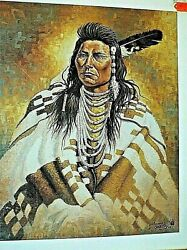 Chief Joseph By Michael Gentry Signed