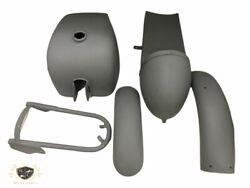 Royal Enfield Cafe Racer Body Parts Tank + Seat Hood + Fender Fit For